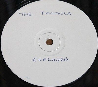 "THE FORMULA * EXPLODED * Classic Breakbeat House 12"" Vinyl White Label"