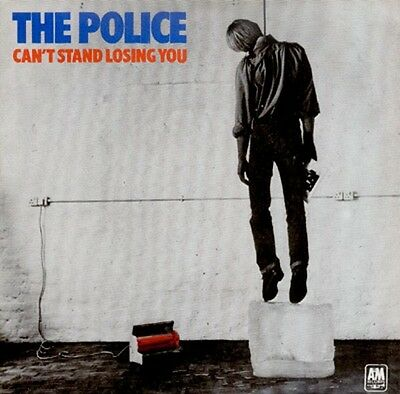 """The Police Can't Stand Losing You 7"""" Single Record Light Blue Vinyl Reissue 1979"""