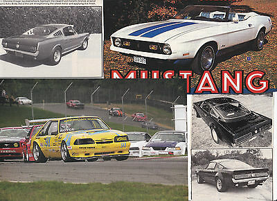 70 LOT Ford MUSTANG & SHELBY Cars, All Sizes Magazine Clips