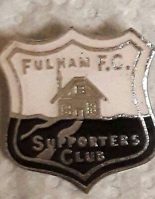 Old Fulham FC Supporters Club Pin Badge