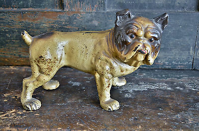 Antique Hubley English Bulldog Doorstop *