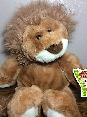 "NWT Plush Big Collectible 19"" Lion Hug-a-Plush Line Commonwealth Co. Super Soft"