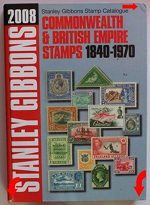 2008 Stanley Gibbons Catalogue Commonwealth & British Empire Stamps 1840-1970