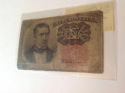 Personal collection of paper money blue note fractional currency 1863, ration to