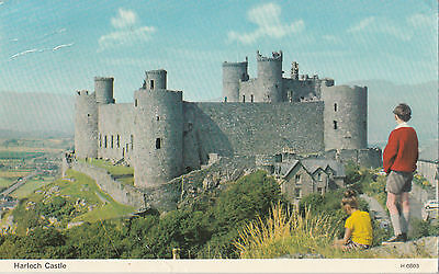 Harlech Castle posted 1978