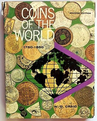Coins of the World 1750 1850 by W D Craig