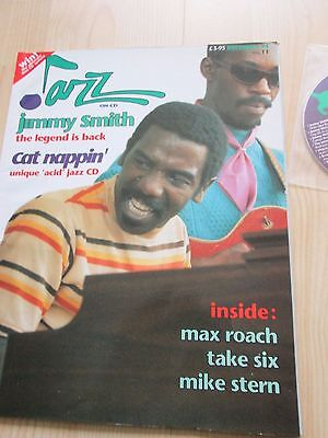 Jimmy Smith Jazz On Cd Music Magerzine From December 1994 With Original Free Cd