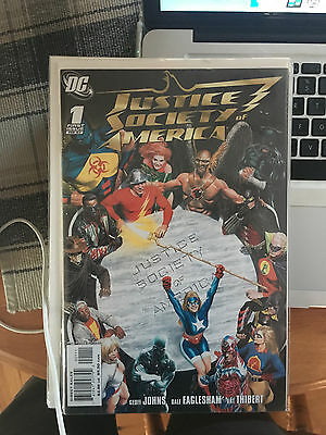 JUSTICE SOCIETY OF AMERICA #1-26 NM 1st Print Kingdom Come Sequel + 4 Specials