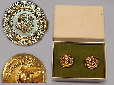 Authentic Presidential Seal Jimmy Carter White House VIP gift Cufflinks