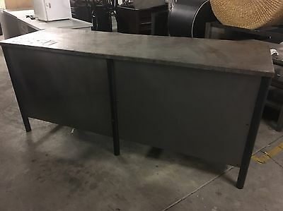 Retail Shop Counter Industrial Metal Style