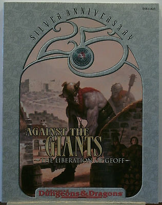 AD&D 2nd Edition Against The Giants The Liberation of Geoff TSR11413