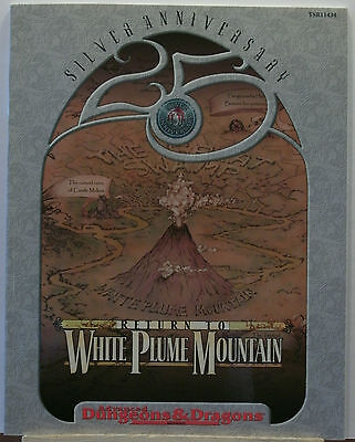 AD&D 2nd Edition Return to White Plume Mountain TSR11434