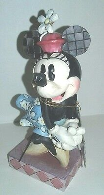 "WALT DISNEY COLLECTION ""PERFECT SWEETHEART"" Enesco MINNIE MOUSE FIGURINE 4010522"
