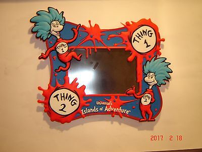 Thing 1 and Thing 2 Photo Frame Universal's Islands of Adventure