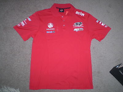 New Holden Racing Team Polo Shirt - HRT 25th Anniversary Edition - Medium Size