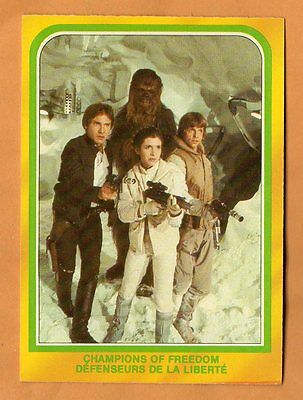 RARE Vintage EMPIRE STRIKES BACK CARD #328 S/H $1.98