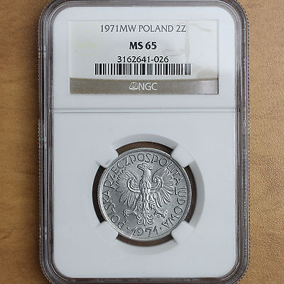 Poland - 1971 - 2 Zlote - MS65 NGC - #669