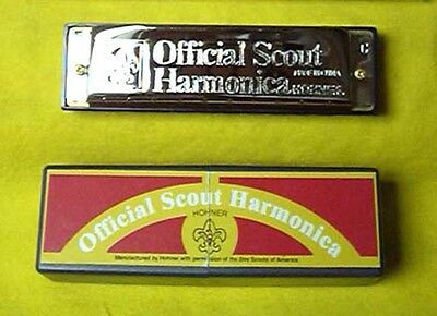 HOHNER Scout  Harmonica Harp w/Instruction Manual & DVD