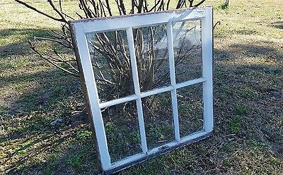 VINTAGE SASH ANTIQUE WOOD WINDOW FRAME PINTEREST RUSTIC 30x28 ETSY COUNTRY FARM