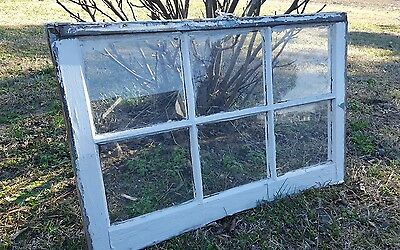 VINTAGE SASH ANTIQUE WOOD WINDOW FRAME PINTEREST RUSTIC 34x21 ETSY COUNTRY FARM