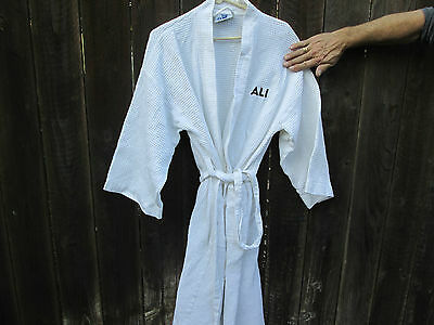 MUHAMMAD ALI  2001 Michael Mann BOXING  Film Promo Robe WILL SMITH