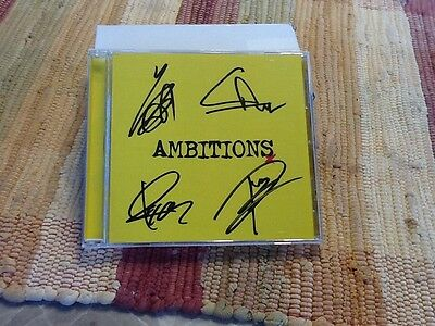 one ok rock signed ambitions cd new