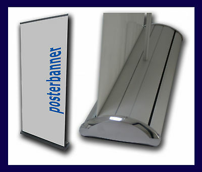 ROLL UP Display EXPO inklusive DRUCK 100 x 220 cm