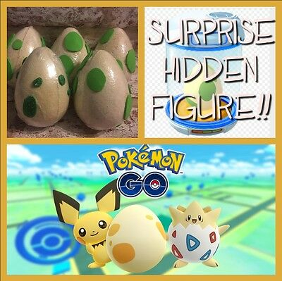 Pokemon GO! Surprise Hidden Figure Inside Bath Bomb EGG + FREE GIFT XL 8CM