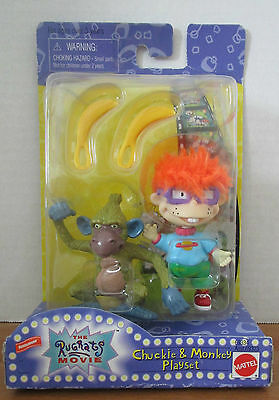 Nickelodeom Rugrats The Move Chucky And Monkey Play Set