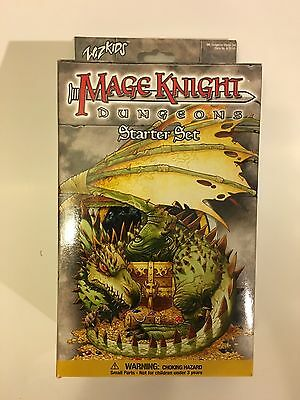 Mage Knight Dungeons Starter Set WZK101 New Factory Sealed