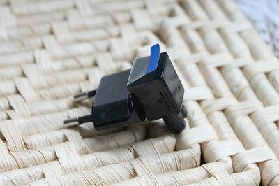 2 Pin Right Angle AC power Plug adapter to Female Connector IEC 320 C7 -EU Plug