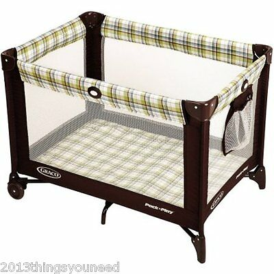 Graco Pack 'n Play Playard, Ashford Portable Foldable 12-24 Months New Infant