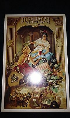"""ROCHESTER BREWING COMPANY 1891 LADIES AD POSTER 11"""" x 15.5"""""""