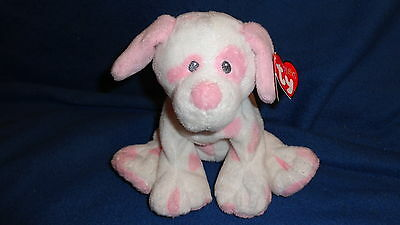 "Ty Pluffies Dog Baby Pups Puppy 9"" Plush"