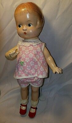 "14"" KEWTY doll Vintage composition  Patsy-type doll"