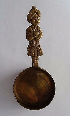 Solid Brass Genie Wood Coffee Co Tacoma Washington Scoop Made Japan Cup Antique