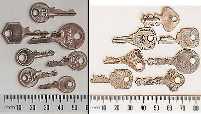 Thirteen Vintage Collectable Keys