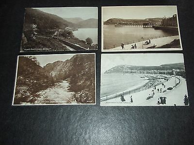 4 Postcards Inc Dolgelly Road & Estuary Barmouth