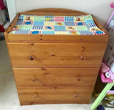 Baby Changing Unit With Draws