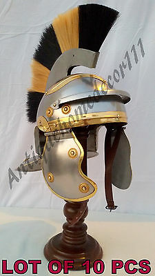 Reproduction Functional Medieval Roman Helmet Knight Role Play Lot Of 10 Pcs ...