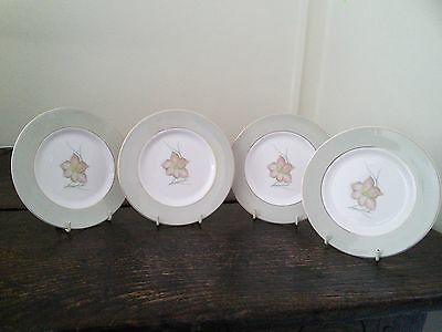4 Susie Cooper Day Lily side plates