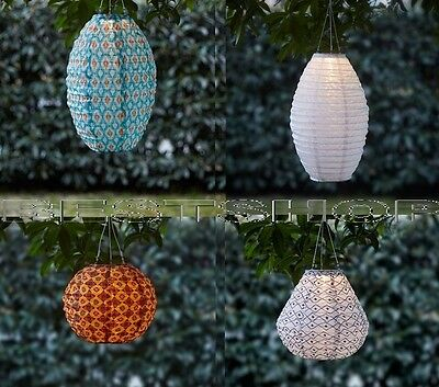 New Ikea Modern Solvinden Led Solar-Powered Pendant Lamp