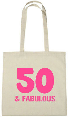 50 Fabulous Bag 50th Birthday Gifts Presents For Year Old Women Wife Mum