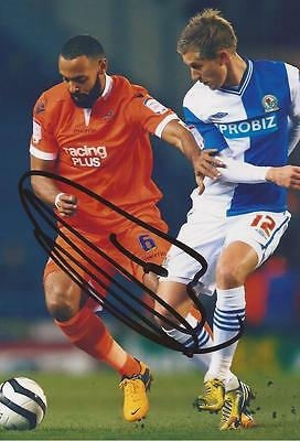 MILLWALL: LIAM TROTTER SIGNED 6x4 ACTION PHOTO+COA