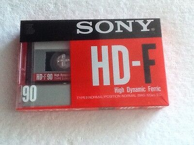 New Sealed Sony HD-F 90 Audio cassette  Tape