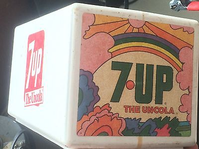 Early 70s Vintage Mini 7Up Soda Fountain Top