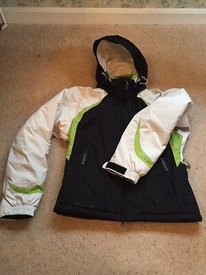 Ladies Columbia Waterproof Omni Tech Ski Jacket Size M