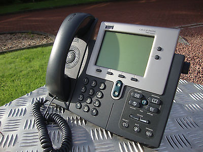 Cisco CP-7940G 7940G IP Phone VOIP Telephone LCD Display Phone