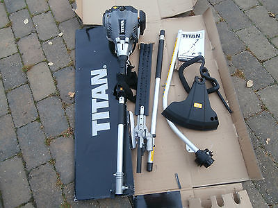 Titan Petrol 2 in 1 Multi-Tool  Hedge  Trimmer  and grass strimmer
