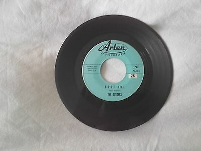 "7"" 45rpm vinyl ROCKABILLY the busters Surf guitar VGC+ RARE"